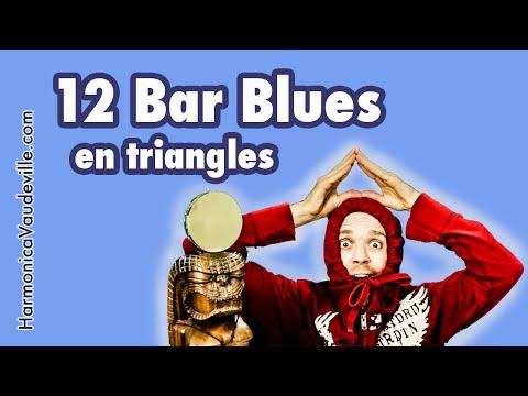 12 Bar Blues Harmonica Tab (compo En Triangle)