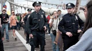 Occupy Wall Street - Day 15 - Brooklyn Bridge