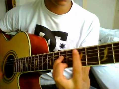 How to play Deuces chris brown on guitar