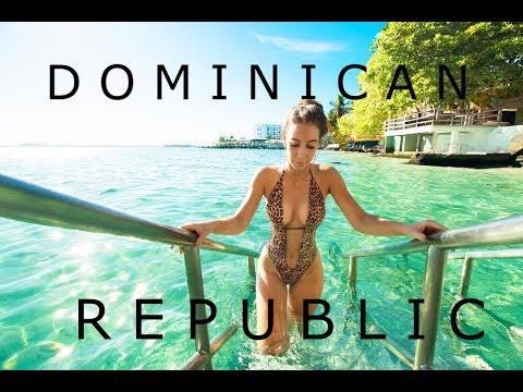 LUNCH & SWIM  DRONE 4K : MOST BEAUTIFUL SPOT Dominican Republic