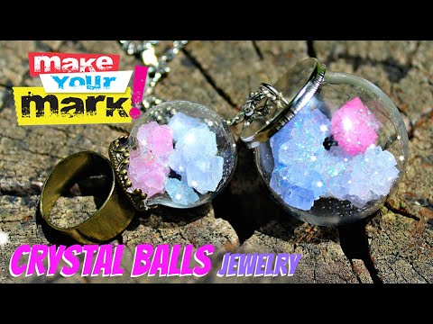 How to: Crystal Balls Jewelry