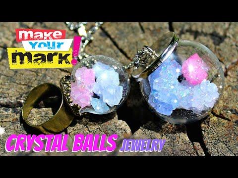 Hur man gör egna kristall smycken!