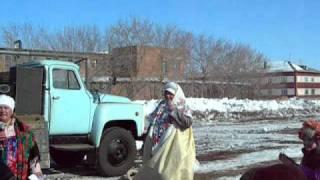 Масленица 2011 Замелетеновка Омск Мы частушки вам споем