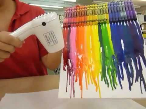 Cool Melted Crayon Crafts Ideas