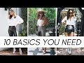 10 Wardrobe Basics You Need 2019
