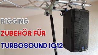 Rigging Zubehör für Turbosound iQ 12 Speaker 4K German/Deutsch
