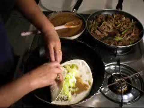 Authentic Mexican Burrito Recipe - YouTube
