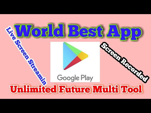 Best Google store app | many future in one app