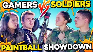 Download Gamers Vs. Soldiers Paintball Challenge | Rainbow Six Siege IRL Mp3 and Videos