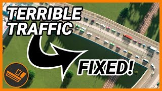 """Fixing"" Some TERRIBLE Traffic from Your Cities! - Cities: Skylines"