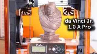 XYZ da Vinci Jr. 1.0 A Pro Initial Setup and Review