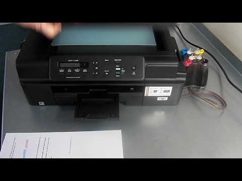CISS Continuous Ink System for Brother Printers LC525 Brother J105 J100 MFC-J200