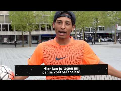 Promo KNVB Straatvoetbalgames Schouwburgplein Rotterdam