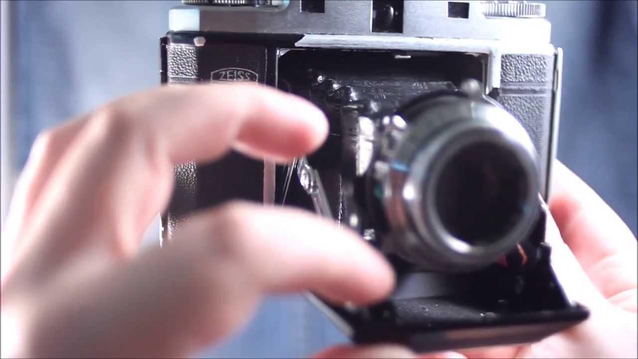 Zeiss Ikon Ikonta M 524/16 - Zeiss-Opton Tessar (Operating)