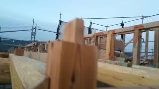 豊川市の堀田建築❗丸太梁