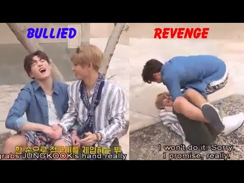 Jungkook (정국 BTS) was bullied and he took revenge