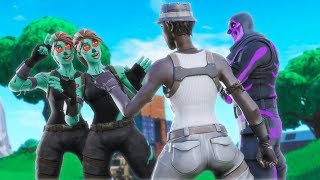 These TWO GIRLS HAD A CRUSH ON ME!😳( TURNED OUT TO BE THE GOLDIGGERS ) FORTNITE BATTLE ROYALE