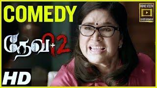 Devi 2 Tamil Movie Comedy Scenes | Kovai Sarala | Tamannaah | Prabu Deva | Kovai Sarala Comedy