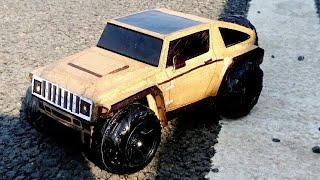 How To Make a rc diy Car ( HUMMER HX ) AMAZING DIY CARDBOARD CAR, CARDBOARD PAPER CAR