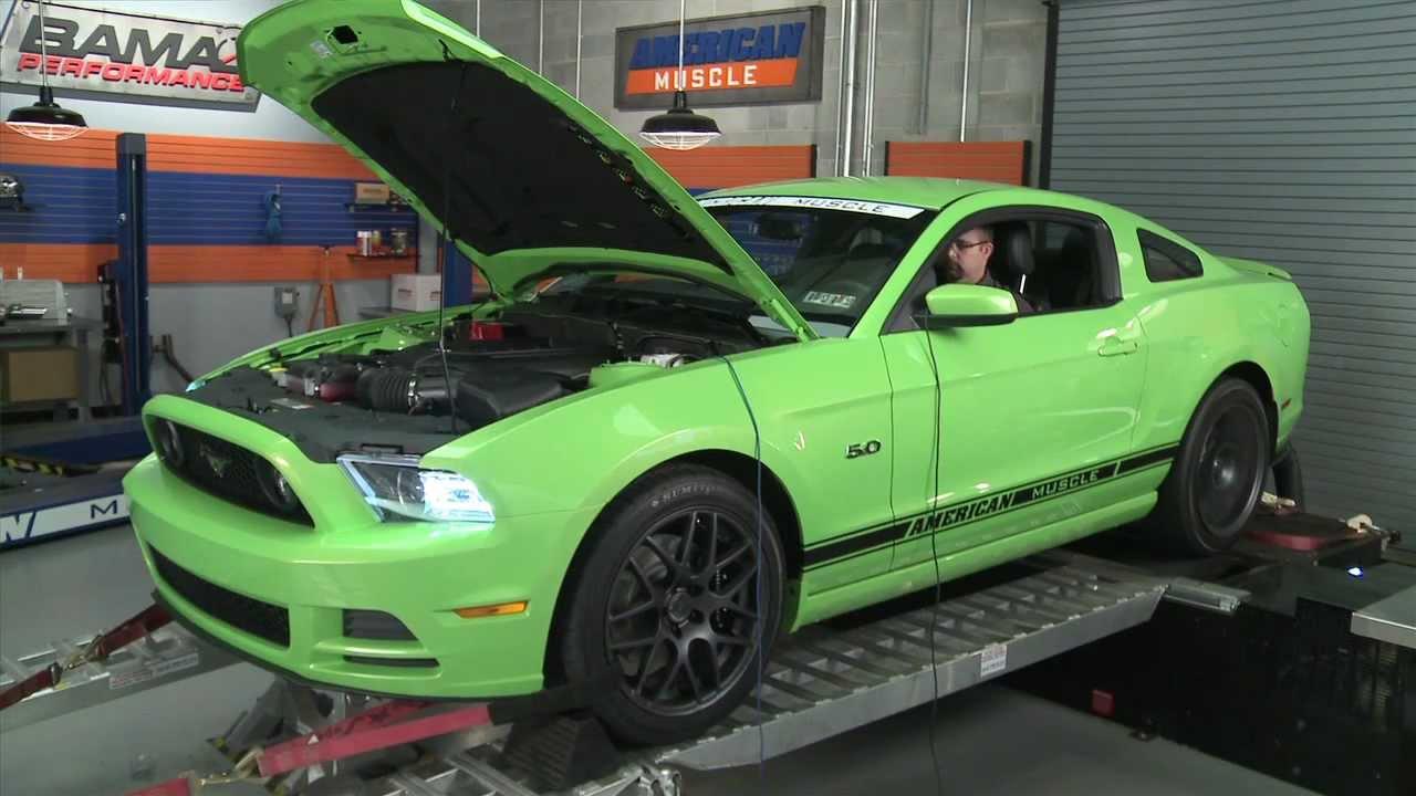 2013 Mustang Gt Cold Air Intake Bama Performance Tuner Dyno