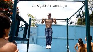 Competencia Barras 18 de Marzo (21/09/14)│Barras México Street Workout│