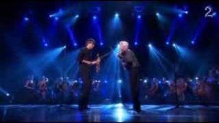 Alexander Rybak  and  Arve Tellefsen (duet  on  violin)