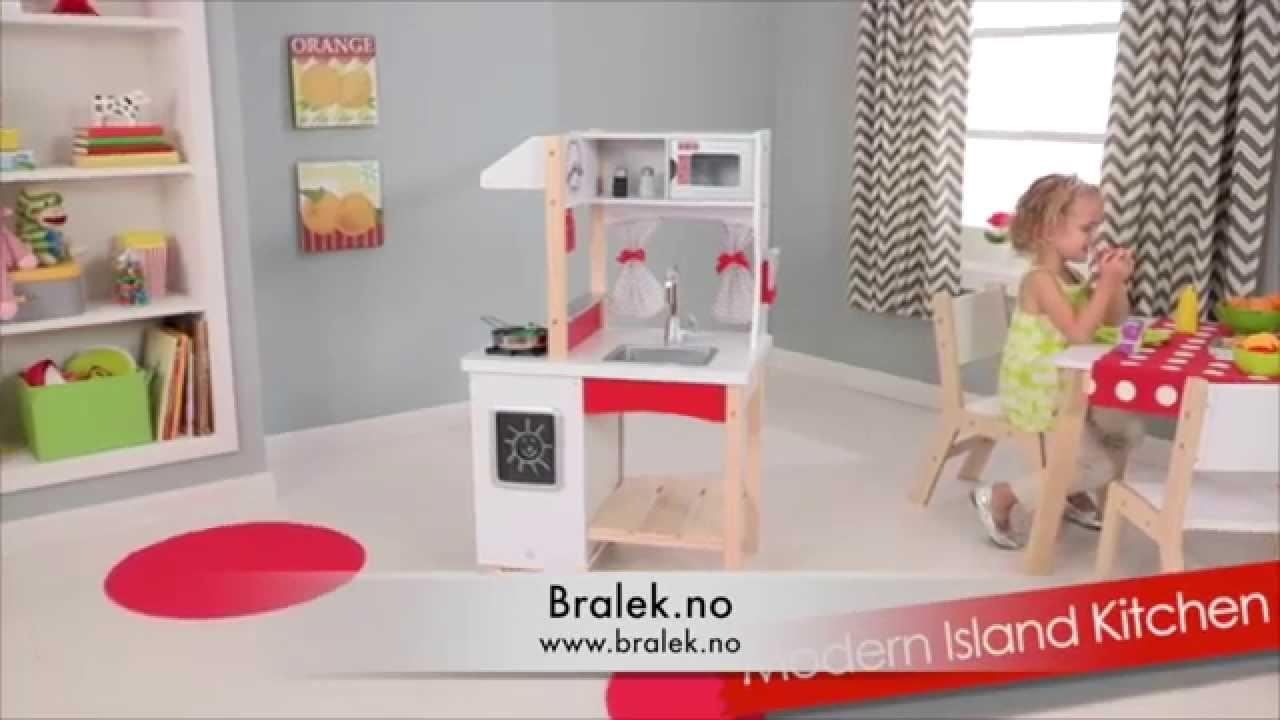 Modern Island Lekekjøkken Kidkraft
