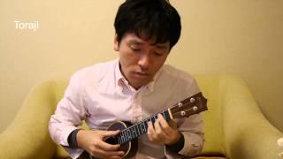 Toraji on ukulele 우쿨렐레 도라지 한국.