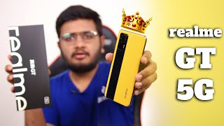 realme GT Unboxing | Snapdragon 888,120HZAmoled And 12GB Ram!
