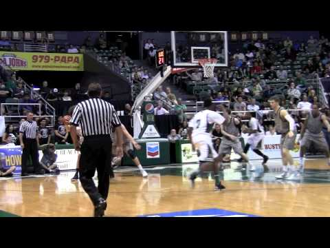 Hawaii Basketball - Second Half Highlights (Part II) Air Force Game