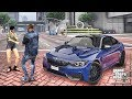 GTA 5 MOD #150 LET'S GO TO WORK (GTA 5 REAL LIFE MOD) BEACH PARTY 2017 BMW M4