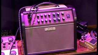 Boss Acoustic Singer Live LT Demo   NAMM 2020