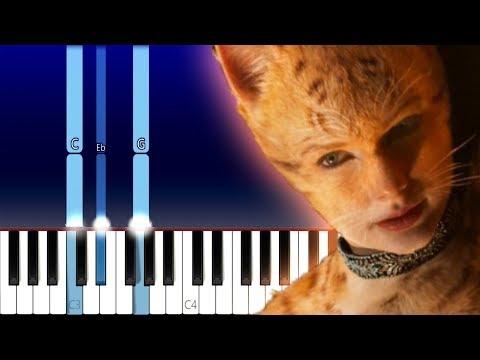 Taylor Swift - Beautiful Ghosts (Piano Tutorial) thumbnail