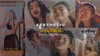 Best aesthetic filters to try on Snapchat 🌼 pt.2 (lakas maka clear skin!) |Alexa Airoled screenshot 1