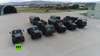 Llegada de los sistemas rusos antimisiles S-400 a Turquía