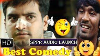 Pollathavan Comedy Live performance Dhanush & santhanam | Chennai Express Tv