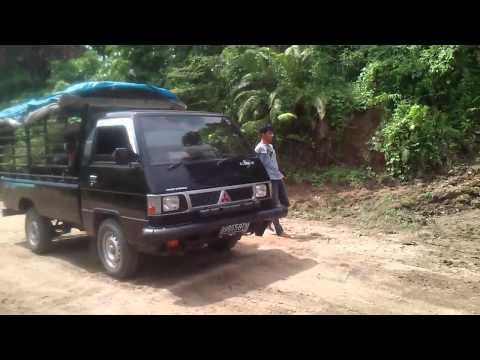 Begini Penyeberangan Sungai Abang, Tebo - Jambi