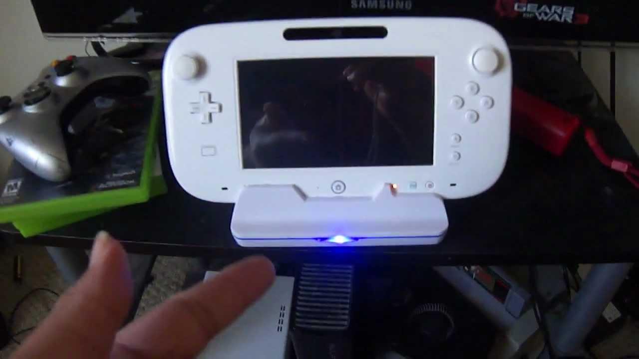 Nintendo Wii U Gamepad Charging Dock 3rd Party Review
