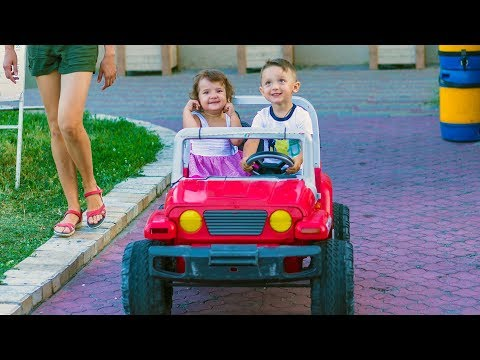 Thumbnail: Cute Babies Toddlers and Power Wheels Compilation (2015)