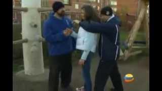 Уроки самозащиты на улице от Сергея Бадюка