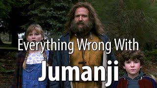 Everything Wrong With Jumanji In 17 Minutes Or Less thumbnail