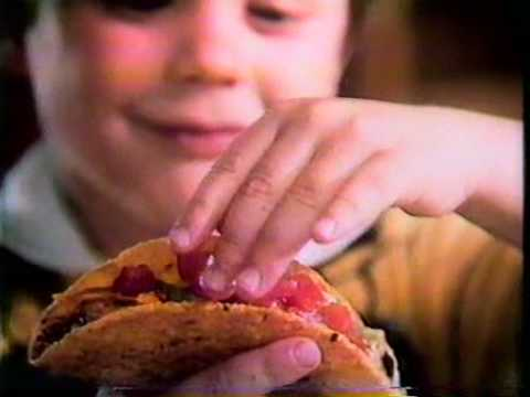 COMMERCIAL Ortega Tacos - Fun to make Fun to eat (1979)
