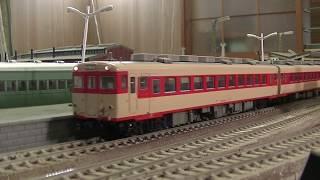 【16番(HO)】キハ58系急行列車・5連