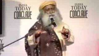 Sadhguru Jaggi Vasudev speech at India Today Conclave 2008