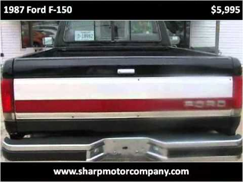 1987 ford f 150 used cars pulaski tn youtube for Sharp motor company in pulaski tn