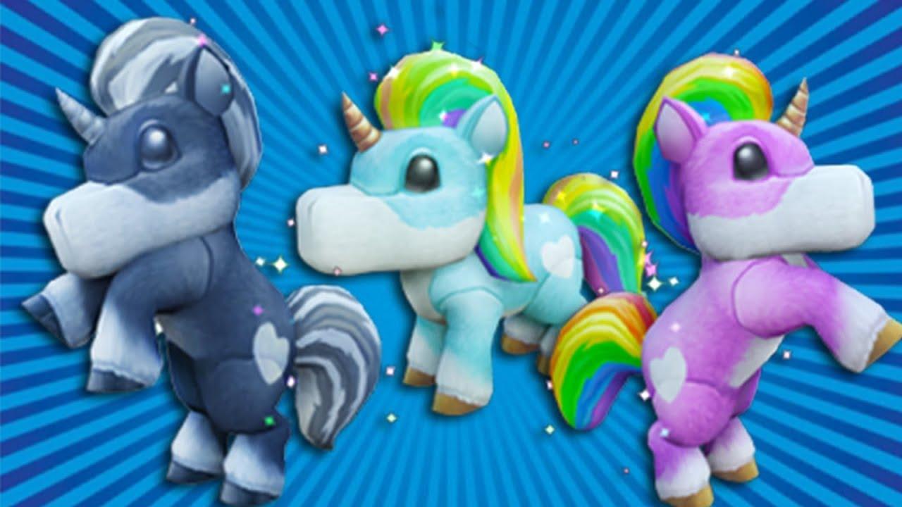 Wizard101: TRIPLE PET SHOWCASE! - All Unicorn Plushies