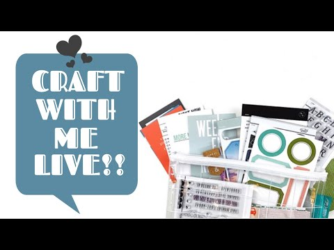 Craft With Me Live 🔴