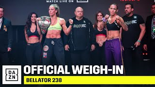 WEIGH-IN | Bellator 238: Budd vs. Cyborg