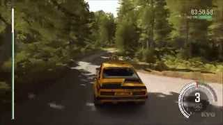 DiRT Rally - Opel Kadett GT/E 16V Gameplay (PC HD) [1080p]