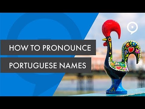 How to pronounce Portuguese names
